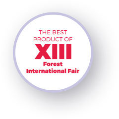 The best product of XIII Forest International Fair - graphics