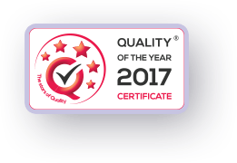The quality of the Year of 2017 - logo